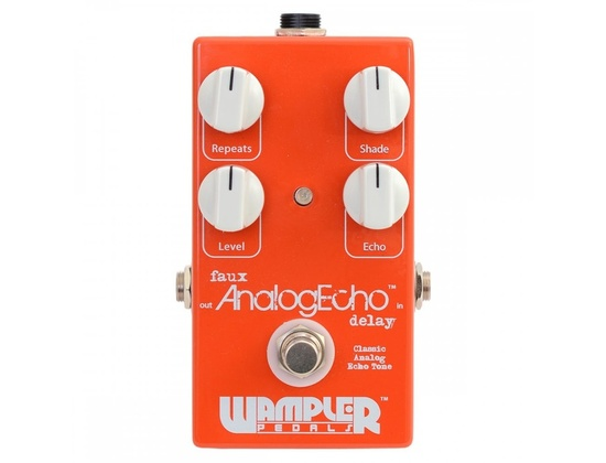 Wampler Faux Analog Echo Delay Pedal