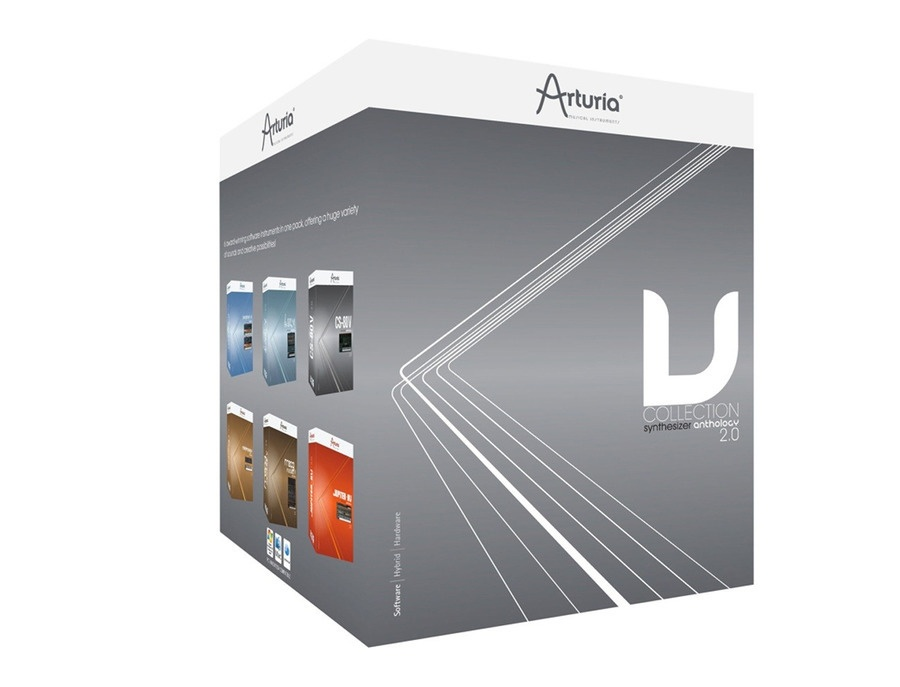 Arturia V Collection 2.0 Software Synthesizer Bundle