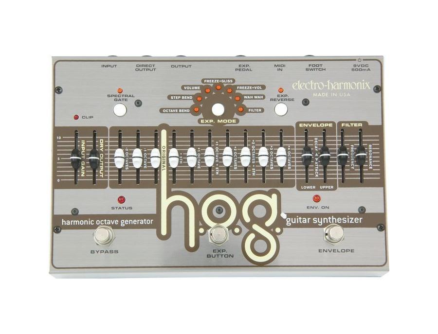 Electro harmonix hog guitar synthesizer xl
