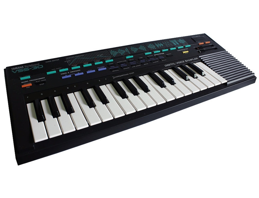 Yamaha vss 30 portasound sampling keyboard xl