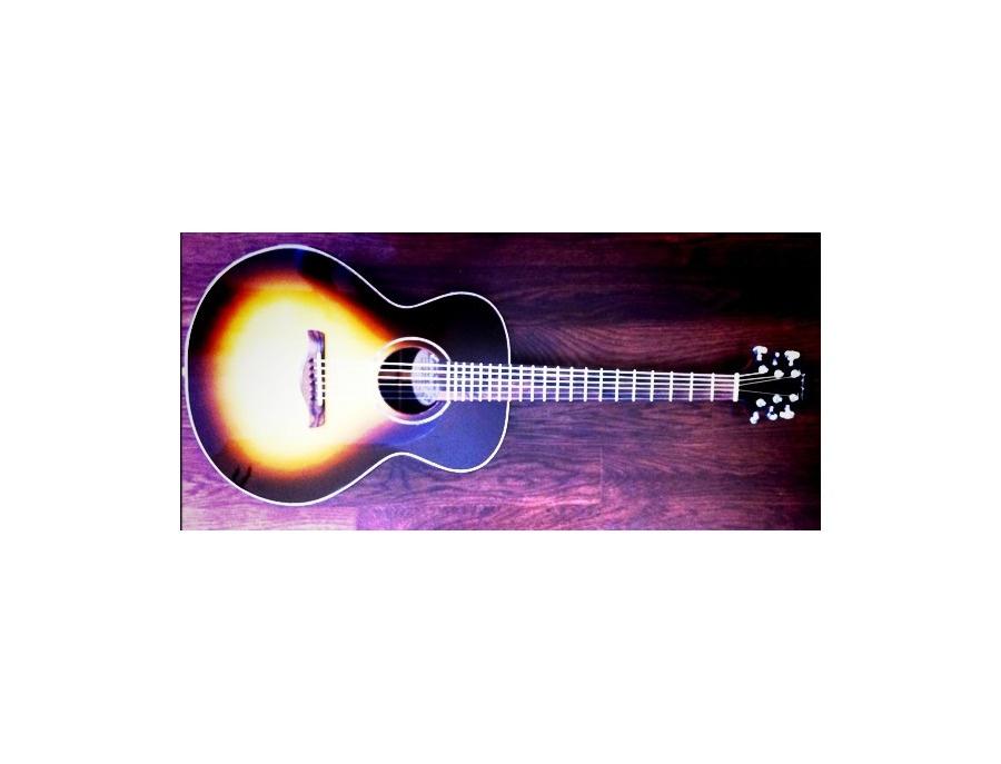 Stephen Ziegenfuss Sunburst Acoustic Guitar