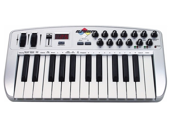 m audio ozone usb midi keyboard reviews prices equipboard. Black Bedroom Furniture Sets. Home Design Ideas