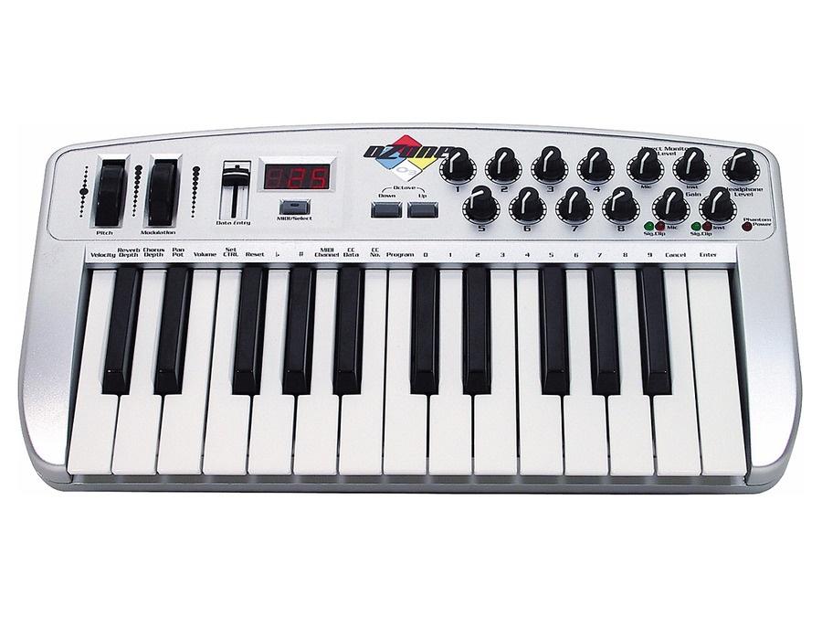 M audio ozone usb midi keyboard xl