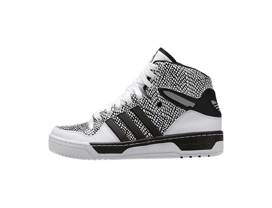 Adidas Originals Metro Attitude Hi Reptile Sneakers