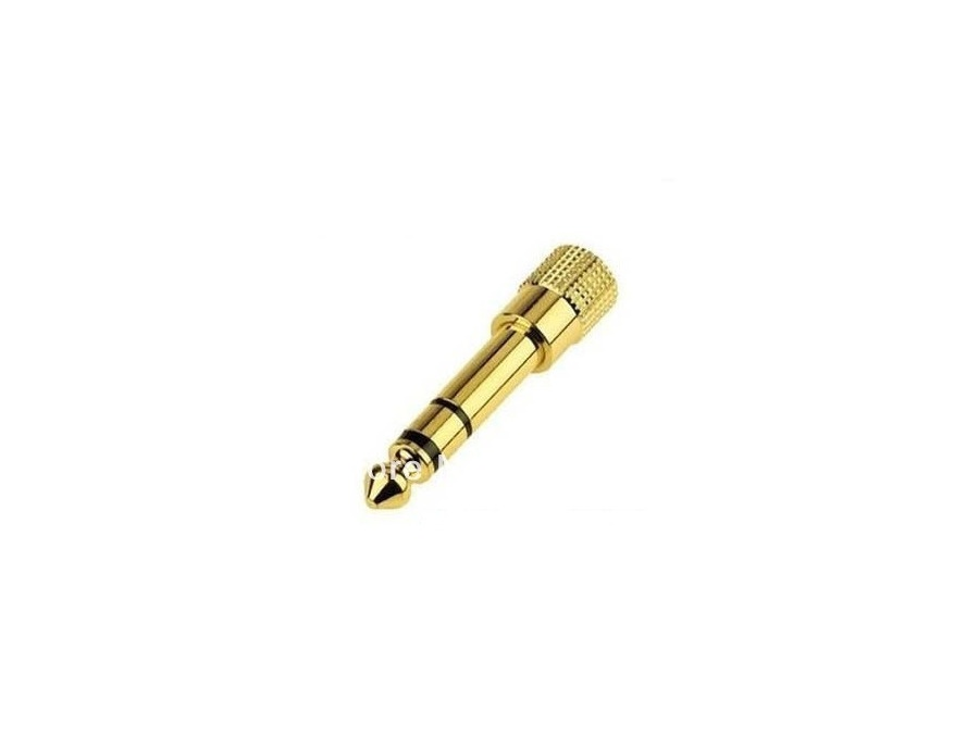Adapter 3.5mm Stereo (gold plated)