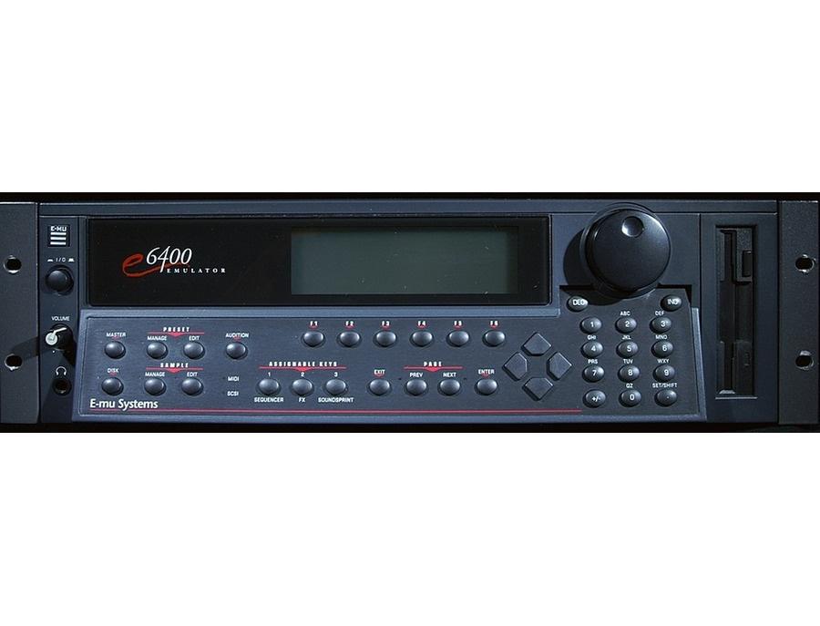 E-Mu 6400