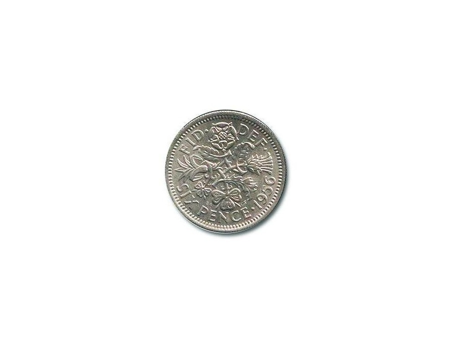 Sixpence Coin
