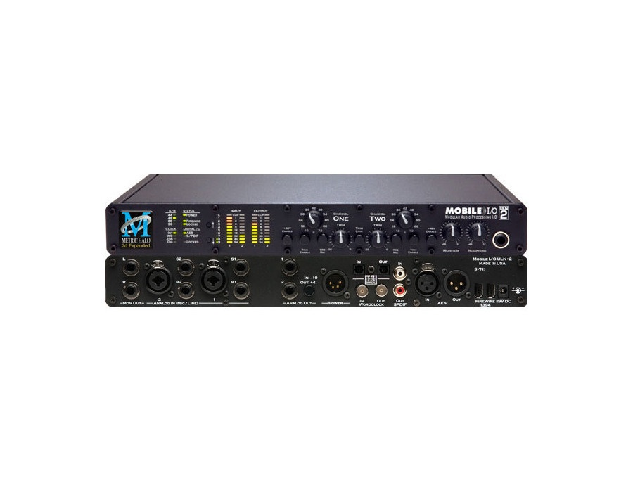 Metric halo mobile i o uln 2 audio interface xl