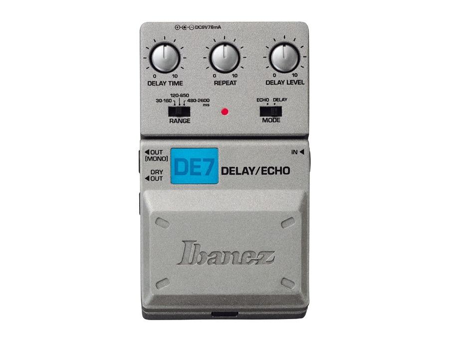 Ibanez tone lok de7 stereo delay echo xl
