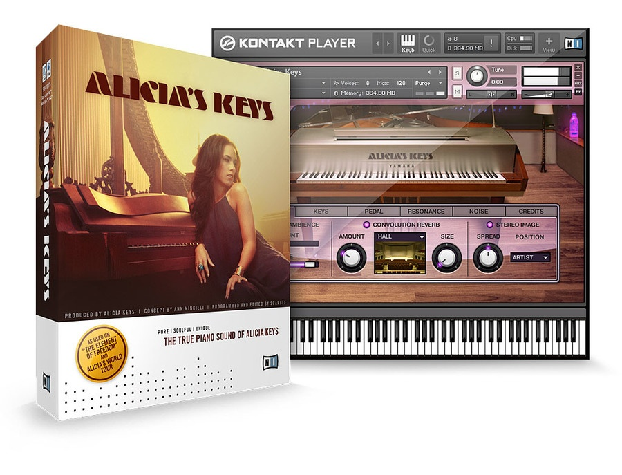 Native instruments alicia s keys komplete instrument xl
