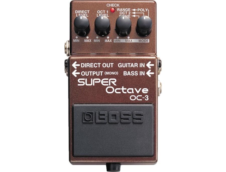 Boss oc 3 super octave xl
