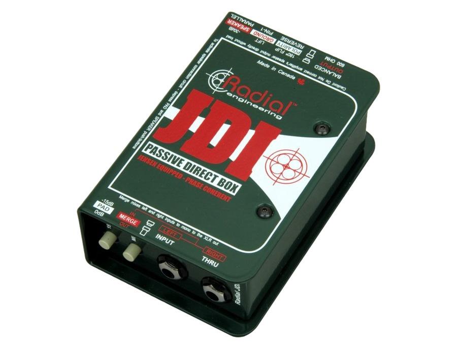 Radial engineering jdi mk3 passive direct box xl