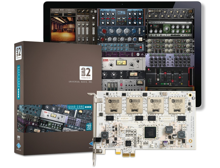 Universal Audio UAD-2 QUAD Core