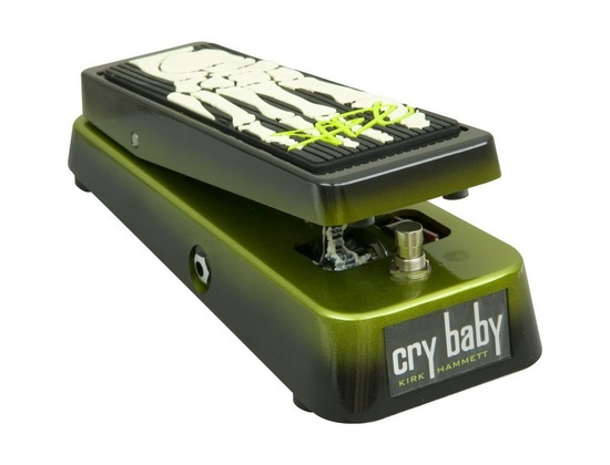 Dunlop KH95 Kirk Hammett Signature Cry Baby Wah Guitar Effects Pedal
