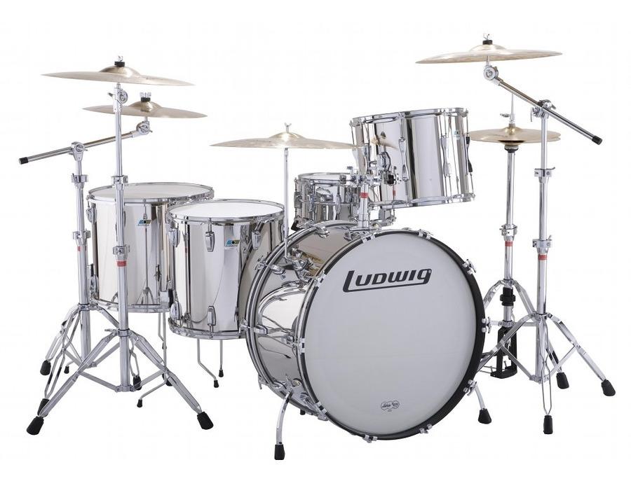 Ludwig stainless steel drumkit xl