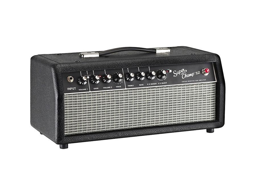 Fender Super Champ X2 HD 15W Tube Guitar Amp Head
