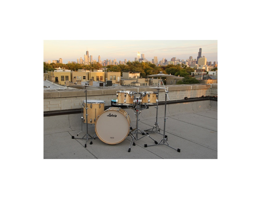Ludwig Thermo Gloss Natural Maple Drumkit