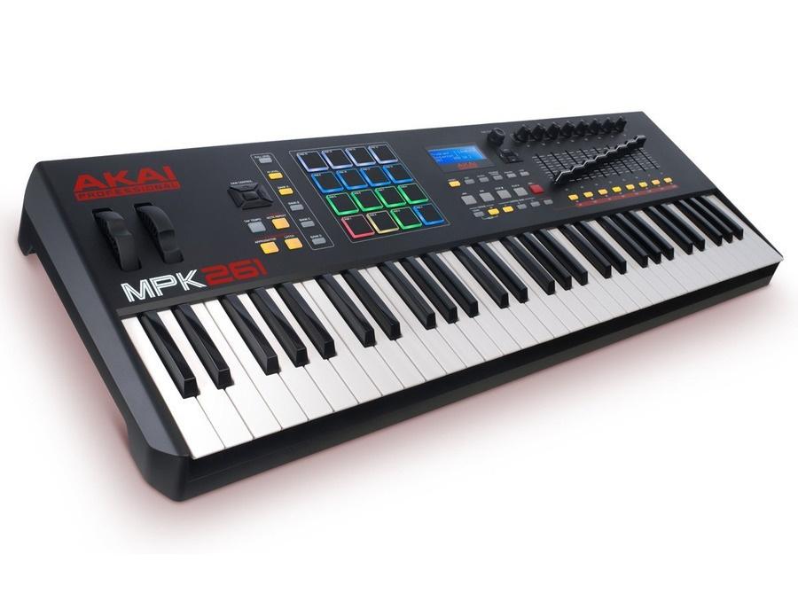 Akai mpk261 61 key midi controller xl