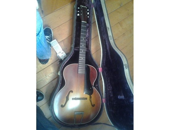 1956 Silvertone Acoustic Guitar