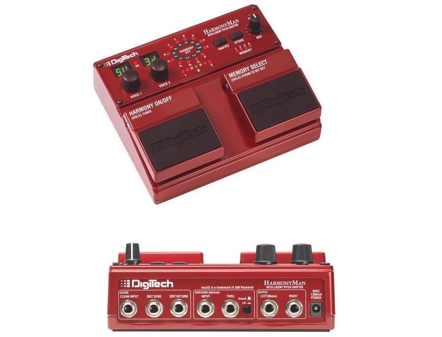 Digitech hm2 harmonyman intelligent pitch shifter pedal xl