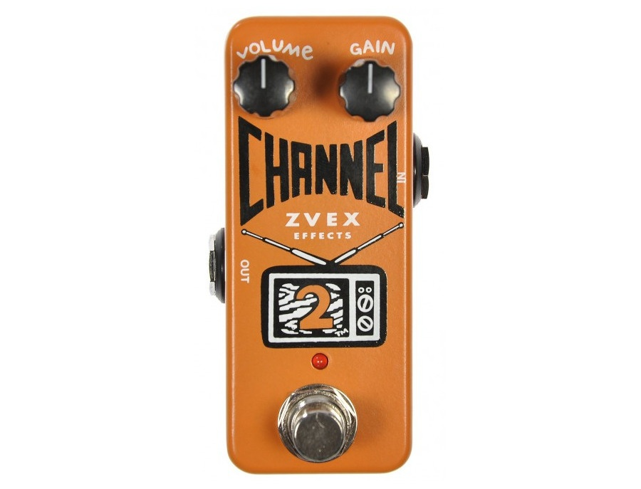 ZVEX Channel 2 Boost / Distortion Pedal Channel Two with Button