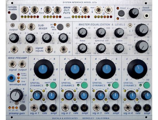 Buchla 227e System Interface