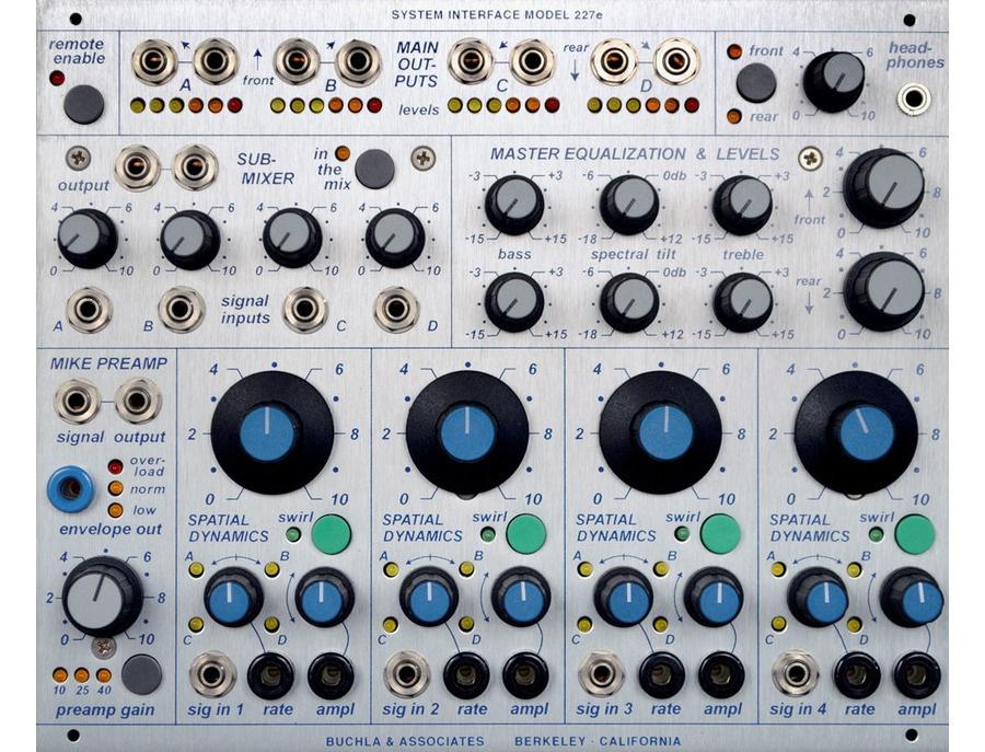 Buchla 227e system interface xl