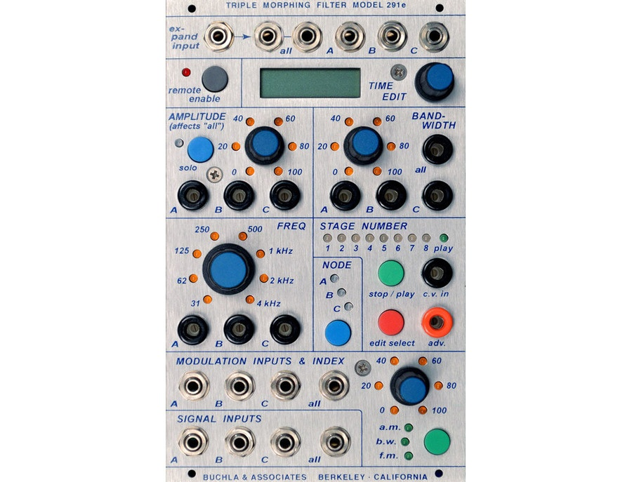 Buchla 291e Triple Morphing Filter