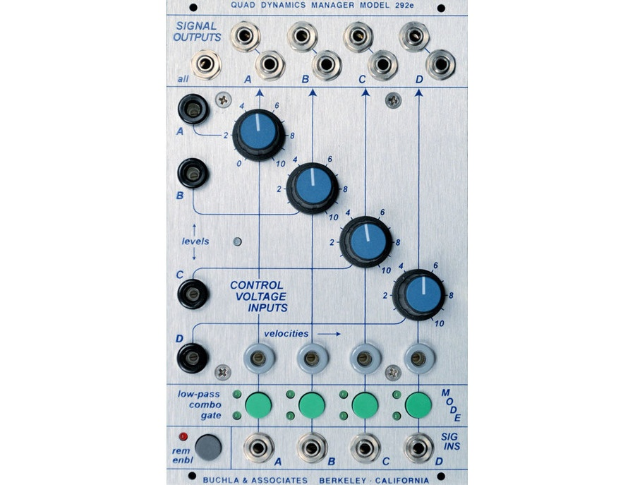 Buchla 292e Quad Dynamics Manager