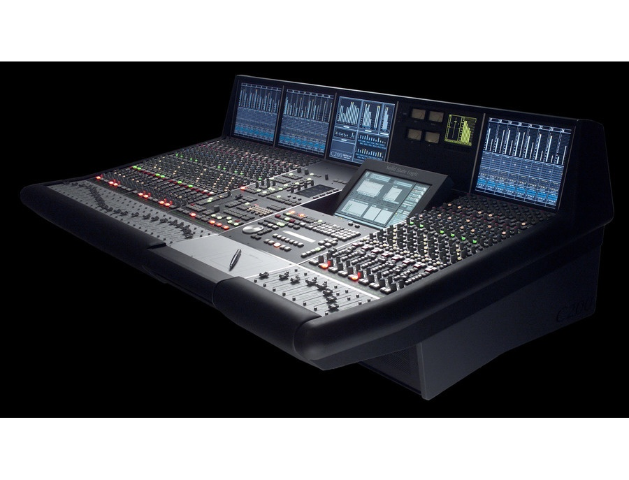 Solid state logic c200 hd digital production console xl