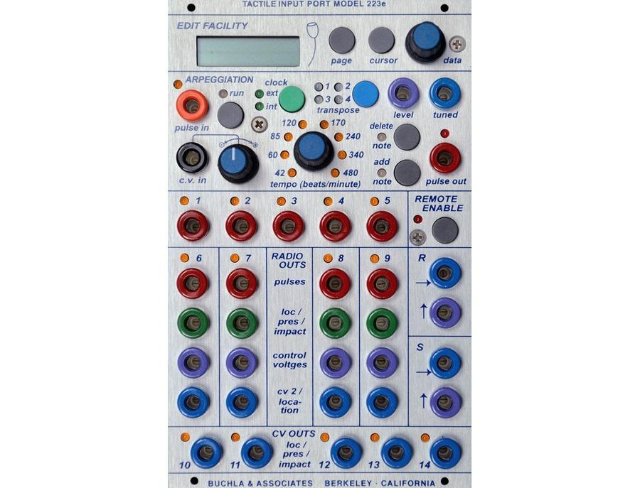 Buchla 223e Multi-Dimensional Kinesthetic Input / Tactile Input Port
