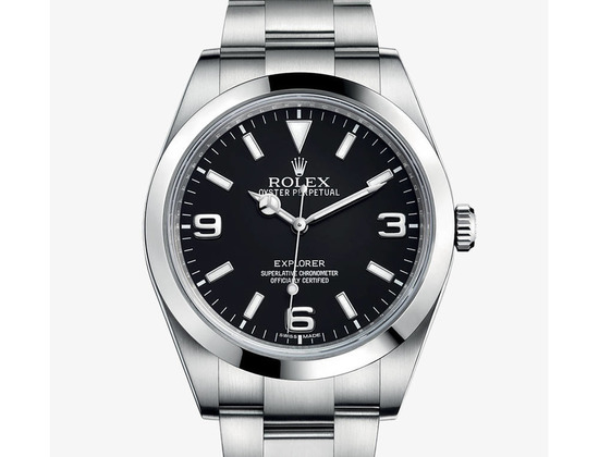 EXPLORER Oyster, 39 mm, steel