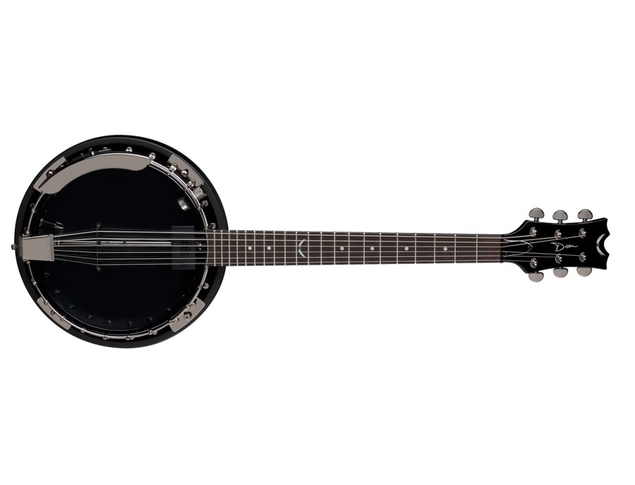 Banjo Dean Backwoods 6 w/Pickup Black Chrome