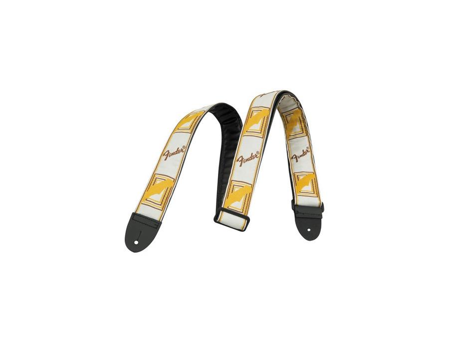 Fender monogrammed strap yellow xl