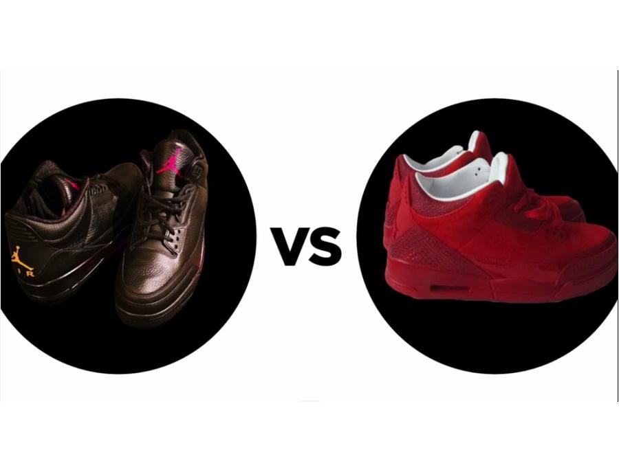 'Drake vs. Lil Wayne' Air Jordan 3