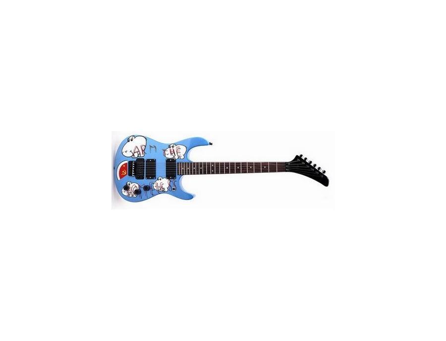 "Custom ""Arm The Homeless"" Electric Guitar"