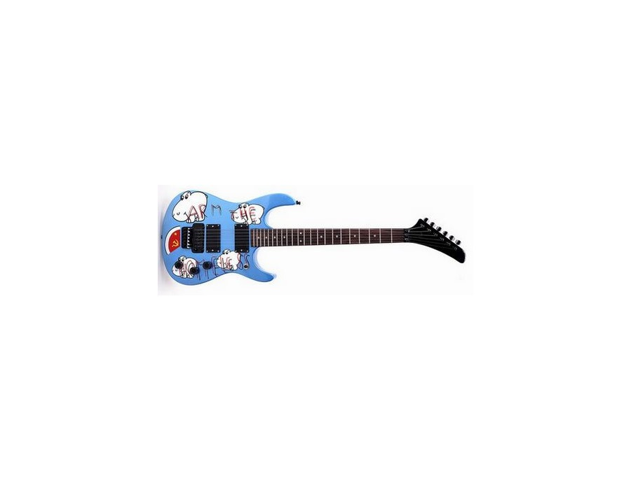 Custom arm the homeless electric guitar xl