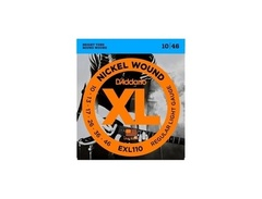 D addario exl110 nickel wound regular light electric guitar strings s