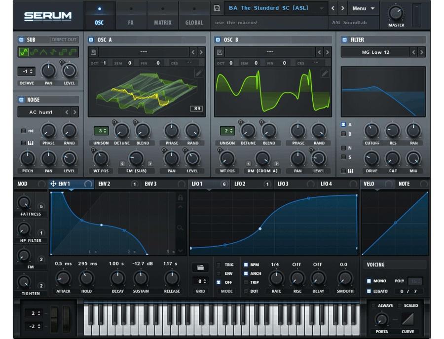 Xfer serum advanced wavetable synthesizer xl