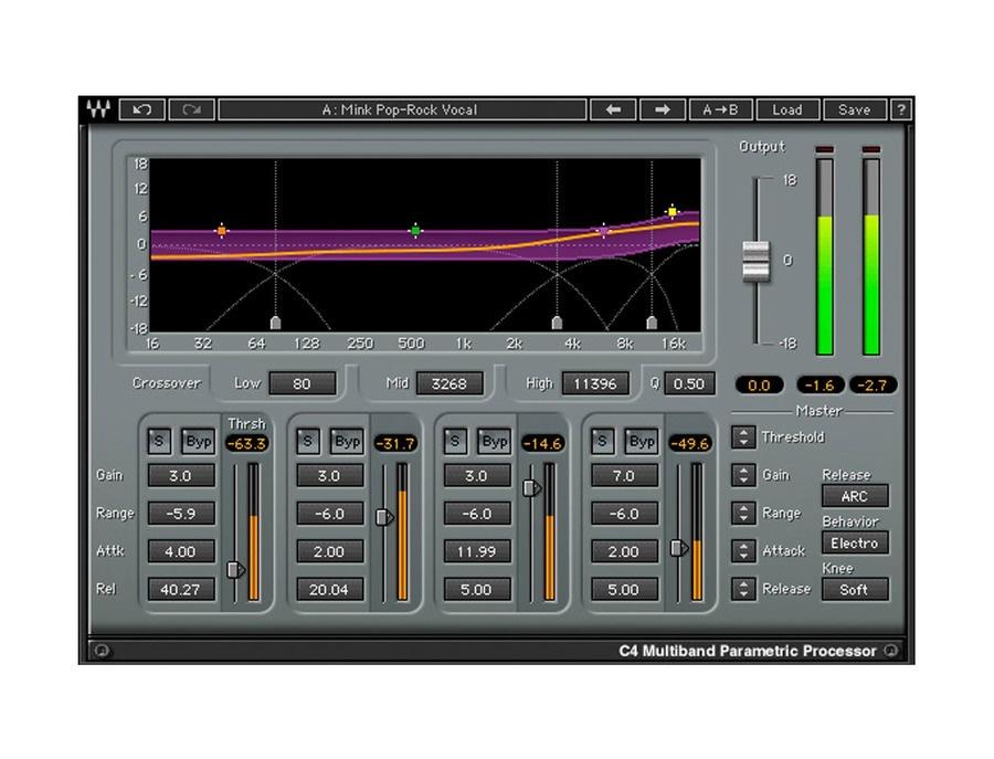 Waves c4 multiband compressor xl