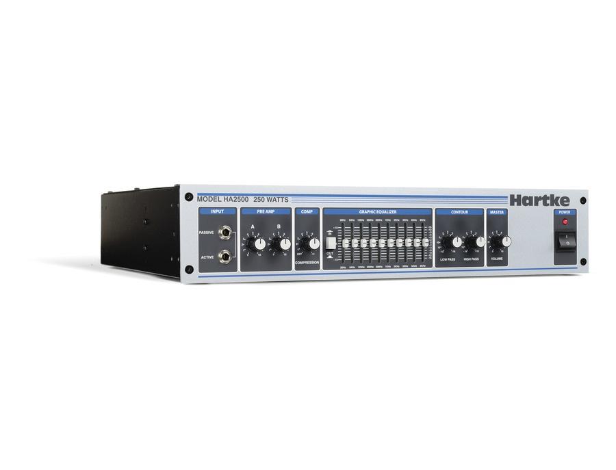 Hartke HA2500 250-Watt Bass Amp Head
