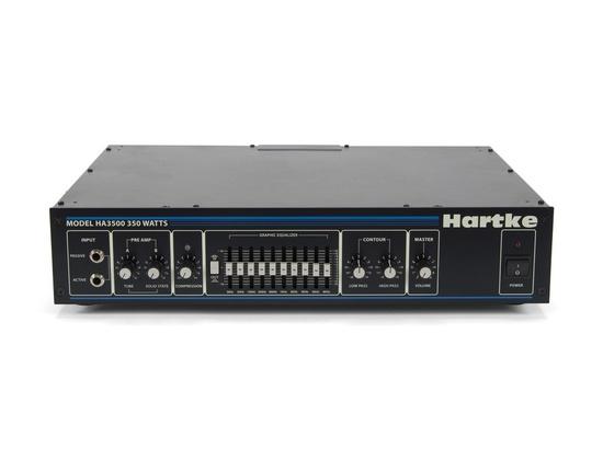 hartke ha3500c 350 watt bass amp head reviews prices equipboard. Black Bedroom Furniture Sets. Home Design Ideas
