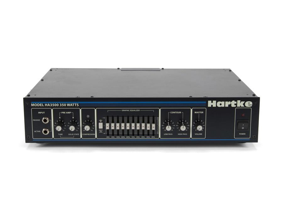 Hartke ha3500c 350 watt bass amp head xl