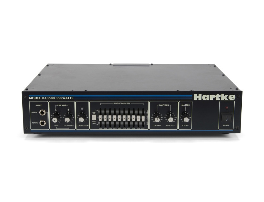 Hartke HA3500C 350-Watt Bass Amp Head