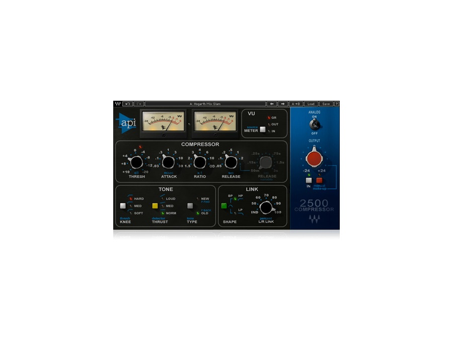 Waves api 2500 compressor xl