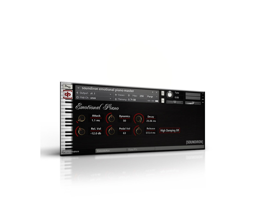 Soundiron Emotional Piano Virtual Piano