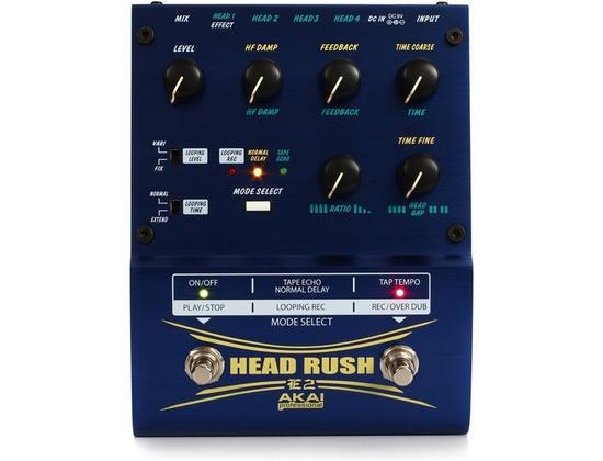 Akai Professional E2 HeadRush Delay/Looper