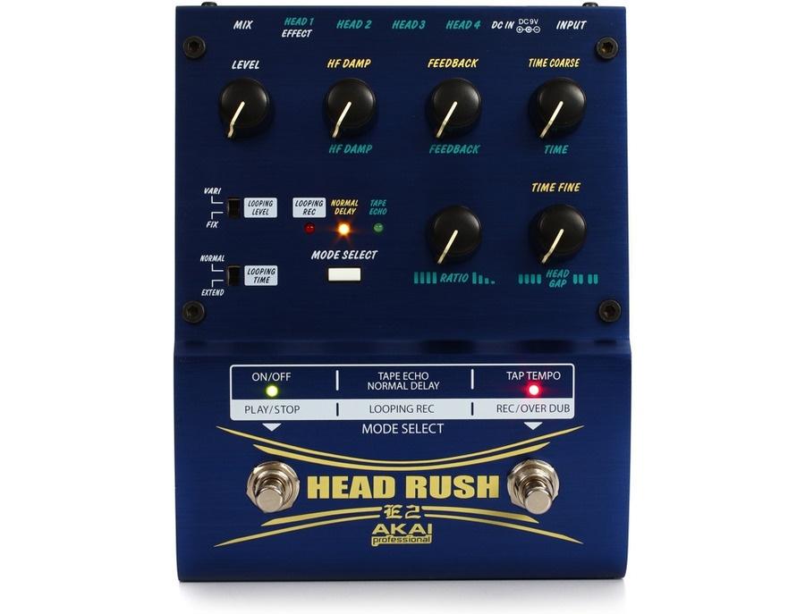 Akai professional e2 headrush delay looper xl
