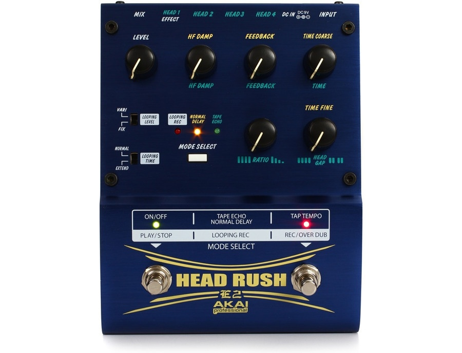 Akai Professional E2 HeadRush Delay/Looper