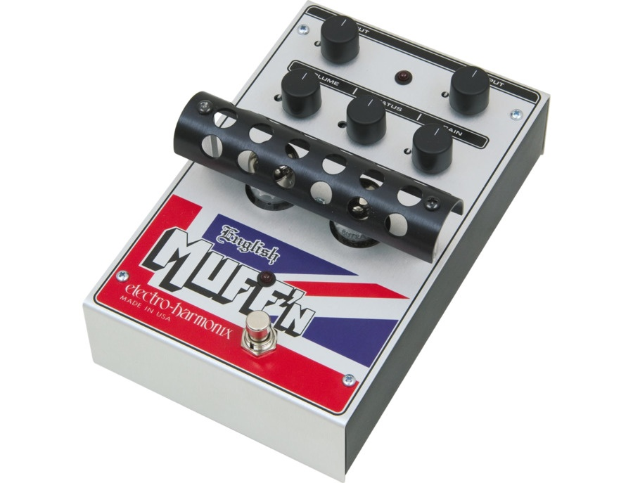 Electro-Harmonix Classics English Muff'n Overdrive Guitar Effects Pedal